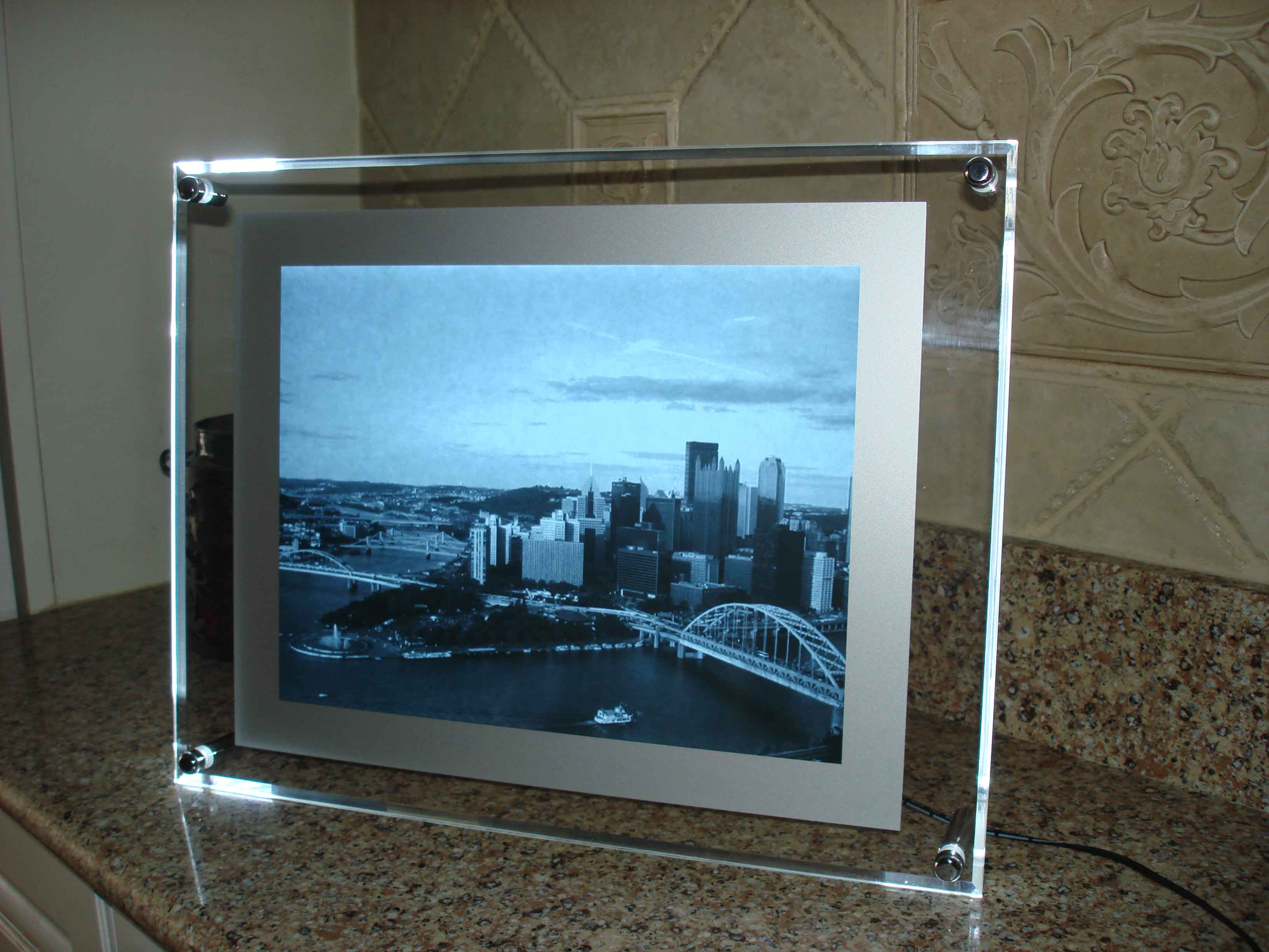 framed x-ray picture